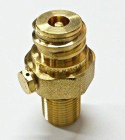 Pin valve CO2 Soda Stream