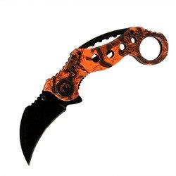 Messer Orange Claw