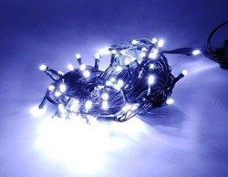 Lampki choinkowe LED 100 białe ZK Ł